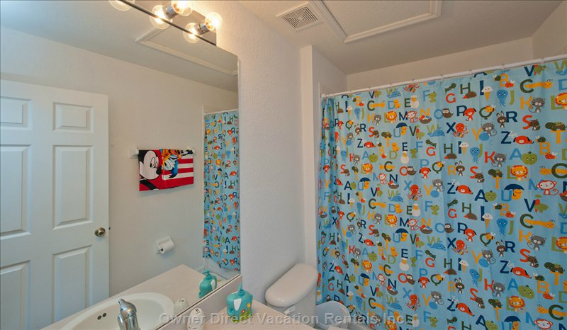 Kids Ensuite Bathroom