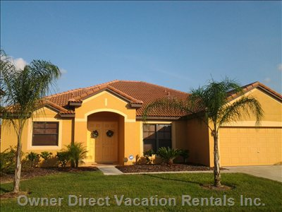 Beautiful 4 Bedroom Home with Salt Water Pool in Gated Community