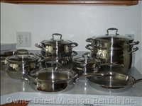 Kitchen Supplies - this Kitchen is Well Stocked with Dishes, Utensils , Appliances, and Cookware. Although we Do Recommend the you Try the Area Restaurants. we Can Make Recommendations from Casual to Fine Dining.
