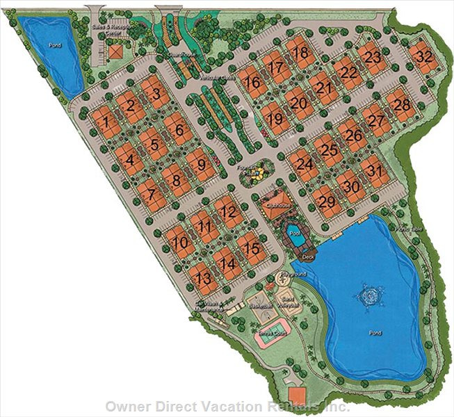 Villas at Seven Dwarfs Site Plan