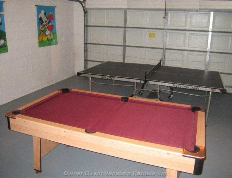 Our Pool & Table Tennis (Ping-Pong) Tables