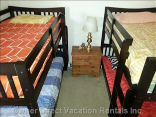 Kids Room with Two Bunkbeds