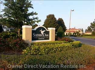 Award Winning Southern Dunes Golf and Country Club