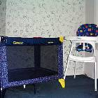 Crib / Playpen and High Chair - for our Young Guests we Provide a Crib / Playpen, High Chair, Stroller and Baby Monitor