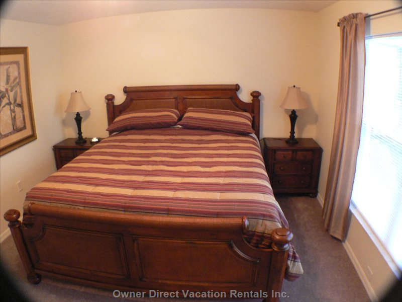 Master Bedroom - with King Bed