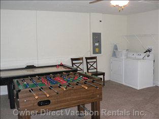Game/Laundry Room