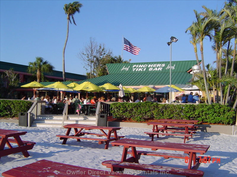 Tiki Bar on the Beach