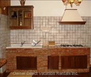 Cooking Area - Cooking Area of Rustic Apartment