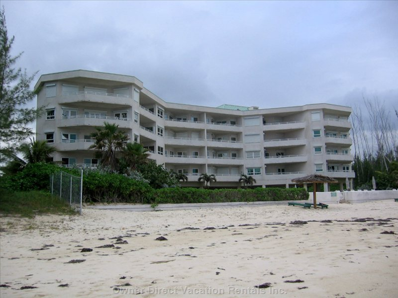 View of Building from Beach