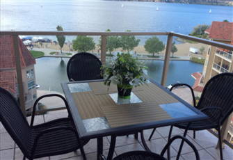 2 Bedroom Condo in the Heart of Downtown with Stunning View of Okanagan Lake