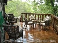 Sun Deck with Patio Furniture