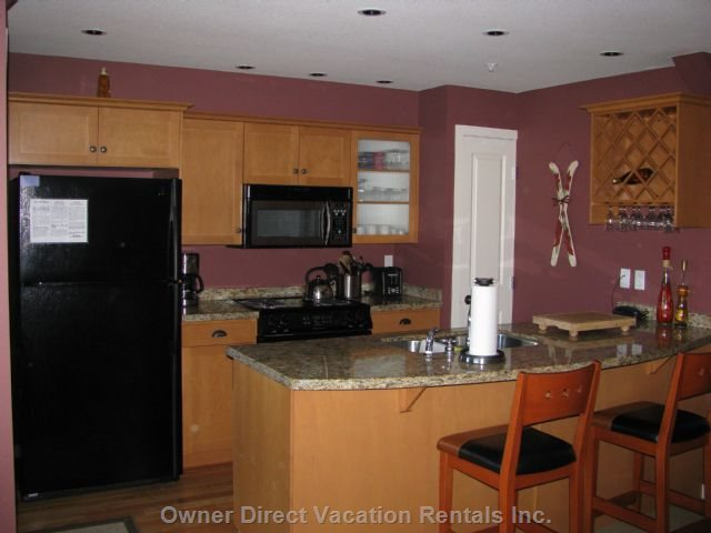 Kitchen Features Upgraded Appliances.