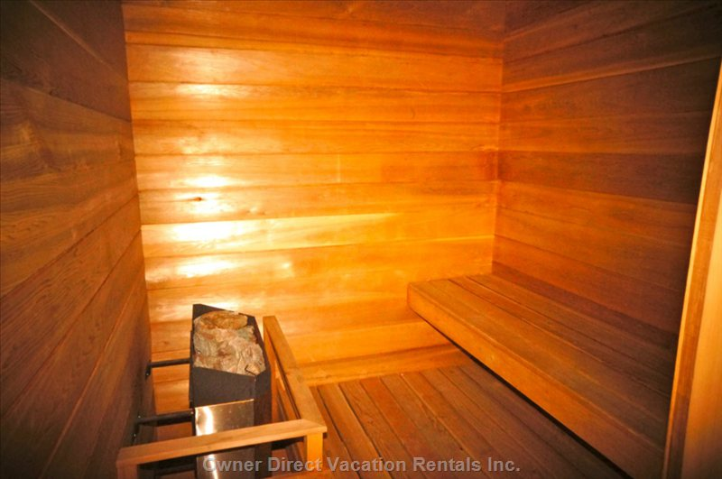 Main Level Sauna