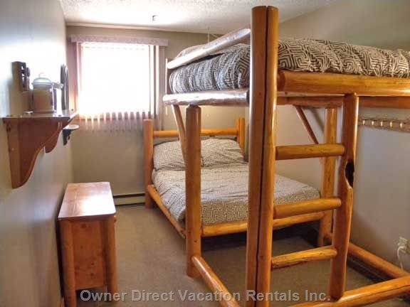 Double Ranch Pole Bunk over Double Bunk
