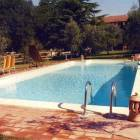 5x13 Swimming Pool in the Garden of 2000sqm, with Deck Chairs