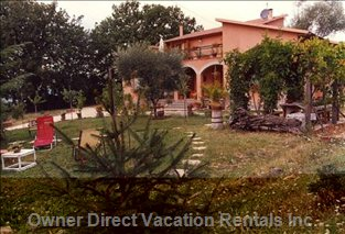 View of the Villa with Swimming Pool, Garden, and Land of 9000sqm