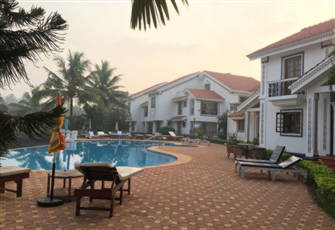 2 Bedroom Villa- Riviera Lake Side Gated Luxury Complex in Scenic North Goa