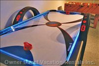 Light and Sound Air Hockey Table