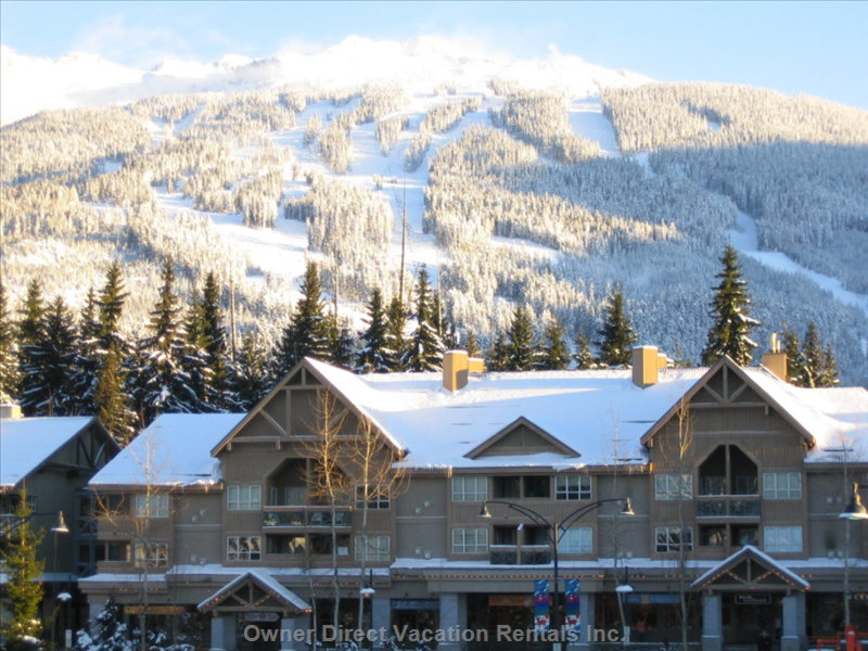 Winter View of Marketplace Lodge