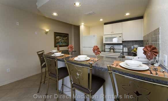 Fully Equipped Kitchen - Unit May be Similar but Not Exact