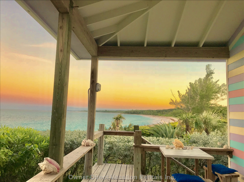 Glorious Sunset Right from your Beachfront Deck!