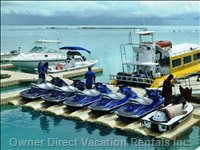 . Ferry Service and Watersports Activities Minutes Away!