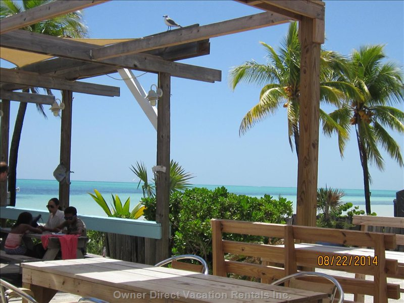 One of our Favorite Beaches - Banana Bay - with Snack Bar for Lunch