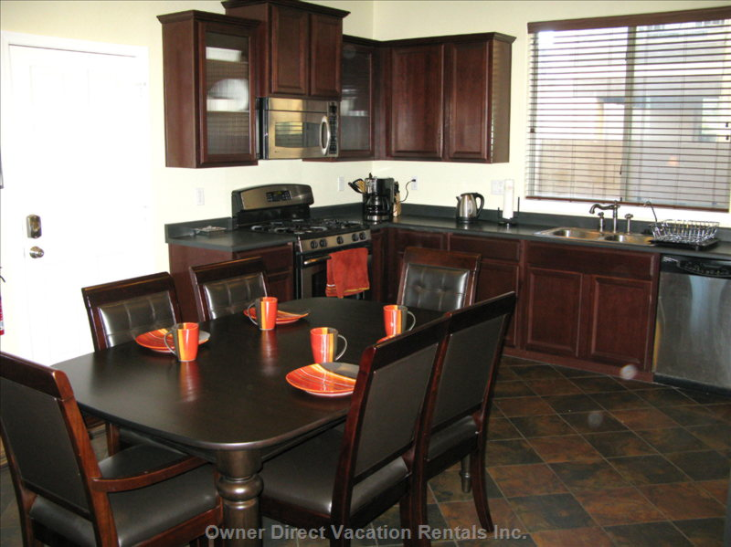 Prepare your Favorite Meal in this Fully Equipped Kitchen with S/S Appliances and Gas Stove