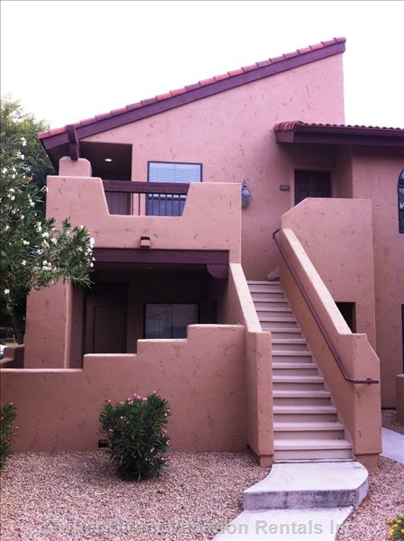 Condo Exterior - Lovely Walkup to the Second Floor.