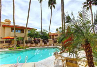 Mountains, Palms & Pools at Private Resort Community!