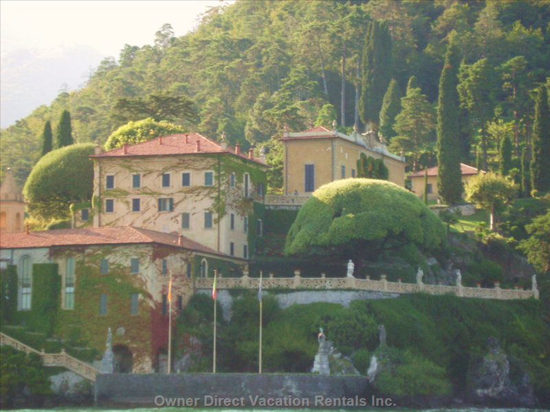 Villa Balbianello at Lenno