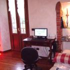 Living Room with Acer Desk Top-