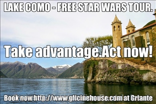 Free Star Wars Tour for 1 Week Stay.