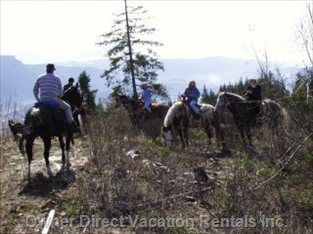 Horseback Riding -  at the Yahoo Guest Ranch, Close to our Vacation House about 11km, they Offer Trail Riding for Adult and Kids.