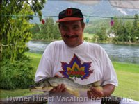 Fishing Adventure  - with a Fishing License, you Can Enjoy our Peaceful Place and River more Then anything Else