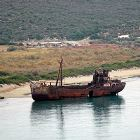 Ship Wreck by Selinitsa Beach