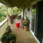 800 Sf Covered Lanai has Lots of Room for Gathering Or Privacy.