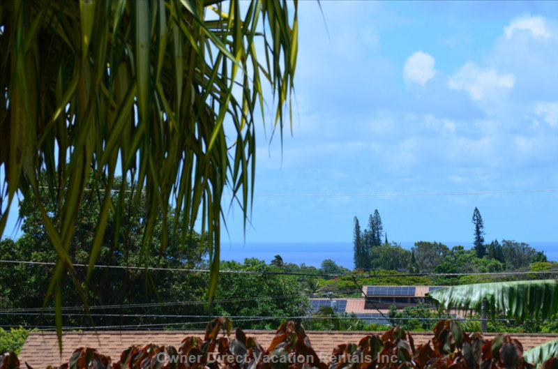 Imagine Watching the Cruise Ships Sailing past North Shore Maui at Sunset ... While You're Sipping your Wine on the Lanai