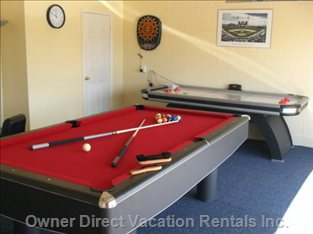 Have Hours of Fun in the Games Room