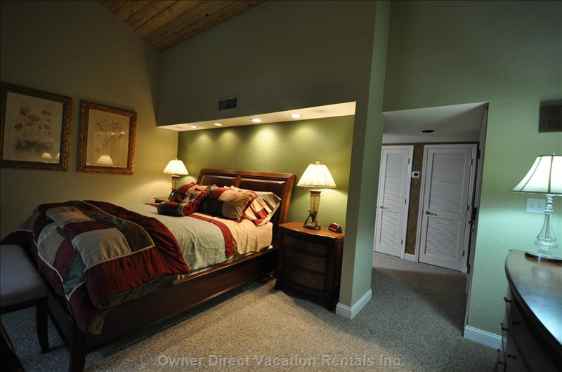 The 3rd Unit Master Suite with Ensuite