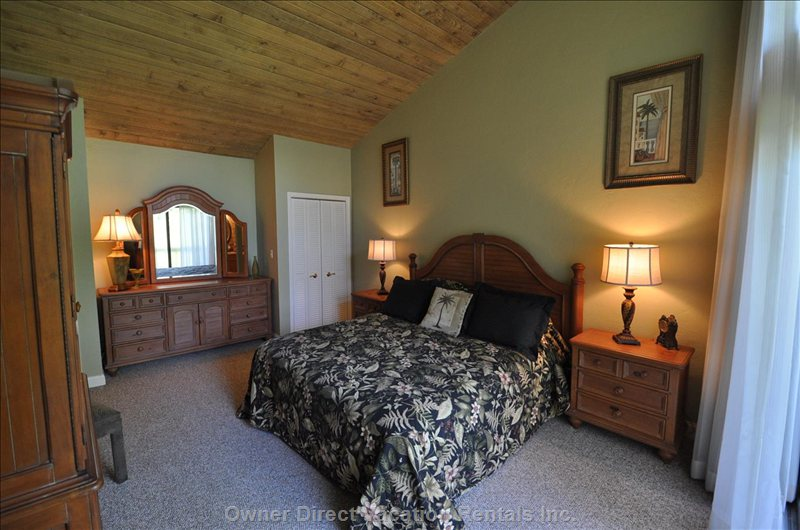 2 B/R Unit  Master Suite with Ensuite