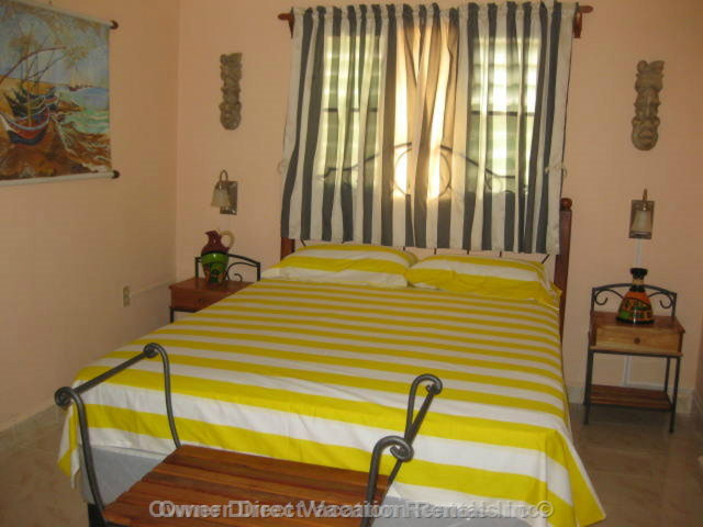 Bedroom (a) - Guests Would be Renting one of the 5 Bedroom/bathroom Suites but the Specific Unit Cannot be Guaranteed.