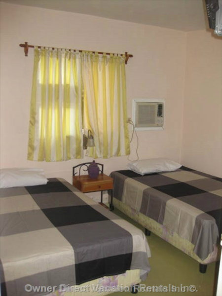 Bedroom (D) - Guests Would be Renting one of the 5 Bedroom/bathroom Suites but the Specific Unit Cannot be Guaranteed.
