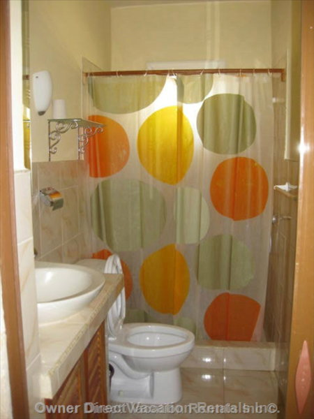 Washroom (D) - Guests Would be Renting one of the 5 Bedroom/bathroom Suites but the Specific Unit Cannot be Guaranteed.