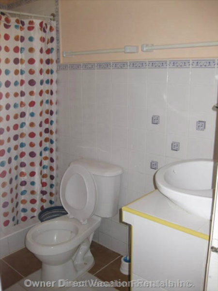 Washroom (E) - Guests Would be Renting one of the 5 Bedroom/bathroom Suites but the Specific Unit Cannot be Guaranteed.
