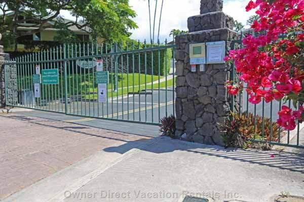 Gated Entry at Malulani.