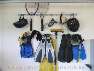 Everything Provided from Snorkel and Boogie Board Equipment to Tennis Supplies