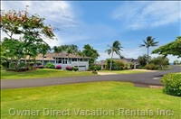 Luxury Home in Golf, Distant to Ocean Sunny Poipu Beach