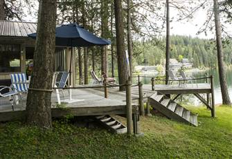 Spectacular Hayden Lake Waterfront View, 10 Free Watercraft, Fishing Mecca