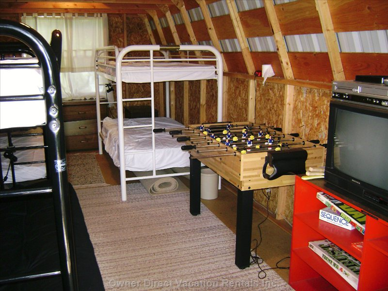 Kids Love to Have their Own Place in Bunkhouse